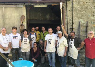 Lopanner - volontari 2018 CHATILLON 1 pan un gruppo