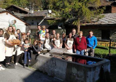 Lopanner - volontari 2018 IMG_20181013_114550 Brusson Vollon